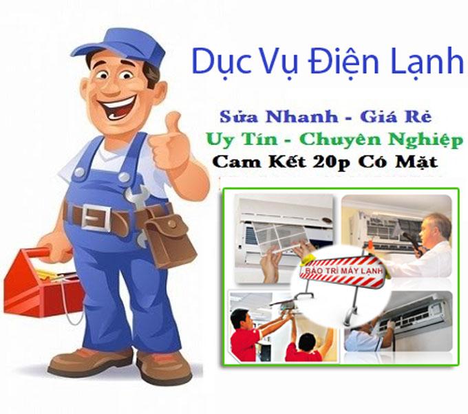 Dịch vụ lắp đặt máy lạnh tại Hồ Chí Minh chuyên nghiệp, uy tín