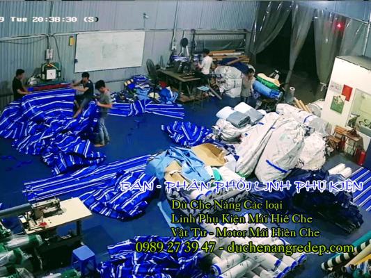 Bán buôn, bán lẻ vật tư linh kiện phụ kiện mái bạt xếp - Mái xếp giá rẻ Biên Hòa