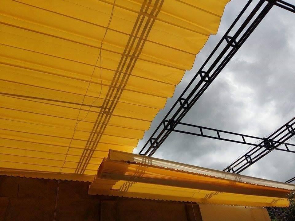 Báo Giá Lắp Đặt Mái Hiên Di Động Tại Tphcm, Làm Mái Bạt Xếp Lượn Sóng Giá Rẻ Tại Tphcm