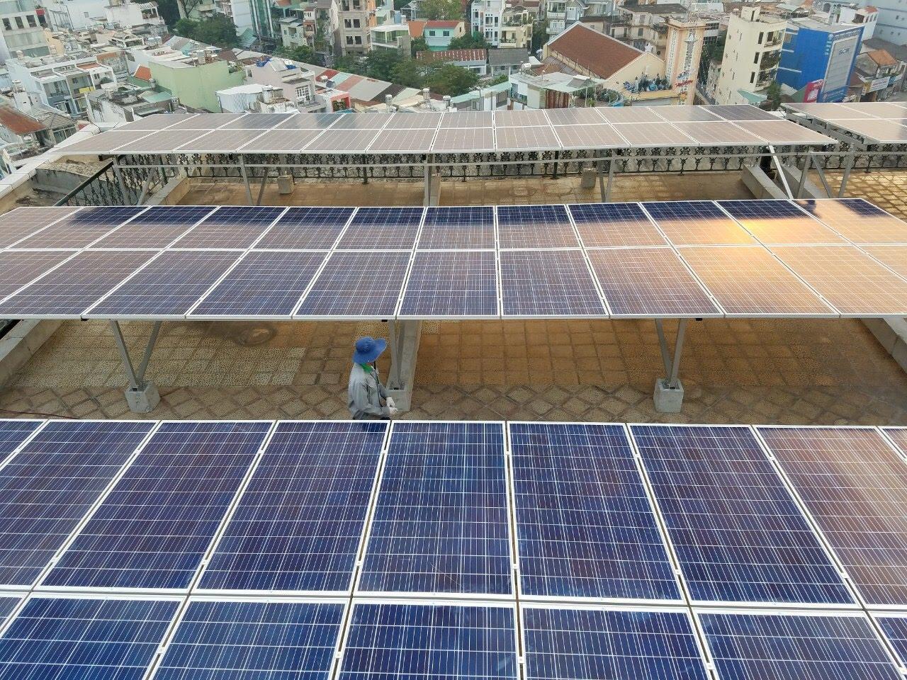 Lắp đặt hệ thống năng lượng điện mặt trời tại biên hòa đồng nai