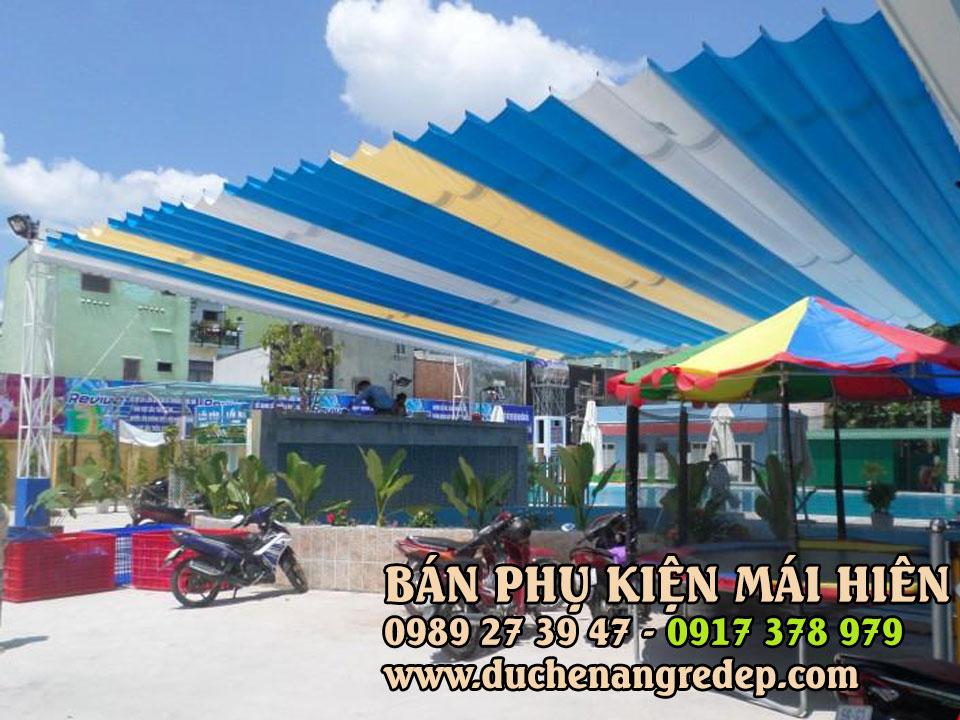 Cung Cấp Vật Tư Phụ Kiện Mái Che TPHCM, Motor Mái Hiên Quận 7 HCM