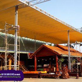 Mẫu Mái Che Di Động Quán Cafe 2020, Thi Công Mái Hiên Quán Cafe Đẹp