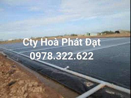 Địa chỉ cung cấp và thi công vải bạt chống thấm nước tại TP Cần Thơ, bán màng chống thấm HDPE lót ao hồ tại TP Cần Thơ chính hãng giá rẻ