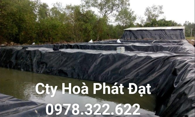 Địa chỉ cung cấp và thi công vải bạt chống thấm nước tại TP Hải Dương, bán màng chống thấm HDPE lót ao hồ tại TP Hải Dương chính hãng giá rẻ