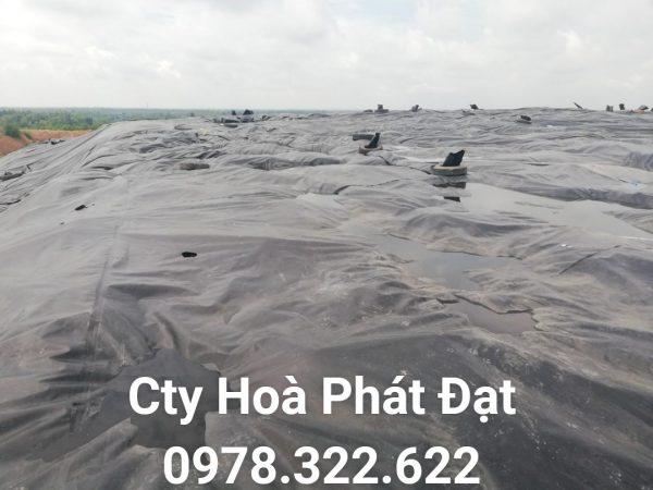 Địa chỉ cung cấp và thi công vải bạt chống thấm nước tại TP Hoà Bình, bán màng chống thấm HDPE lót ao hồ tại TP Hoà Bình chính hãng giá rẻ