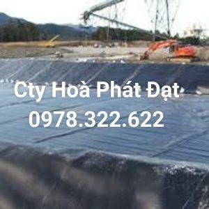 Địa chỉ cung cấp và thi công vải bạt chống thấm nước tại Bến Tre, bán màng chống thấm HDPE lót ao hồ tại Bến Tre chính hãng giá rẻ