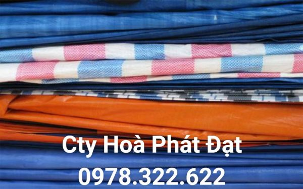 Cung cấp vải bạt giá rẻ khổ lớn nhỏ các loại tại TP Trà Vinh, bán vải bạt xanh cam lót sàn bạt che phủ bạt dùng trong xây dựng, bạt trang trại bạt nông nghiệp tại TP Trà Vinh