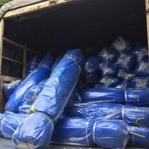Cung cấp vải bạt giá rẻ khổ lớn nhỏ các loại tại TP Hà Nội, bán vải bạt xanh cam lót sàn bạt che phủ bạt dùng trong xây dựng, bạt trang trại bạt nông nghiệp tại TP Hà Nội